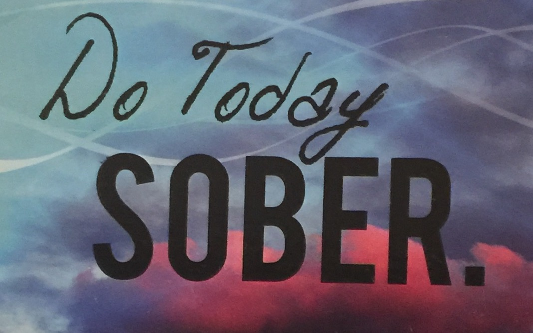 Do Today Sober