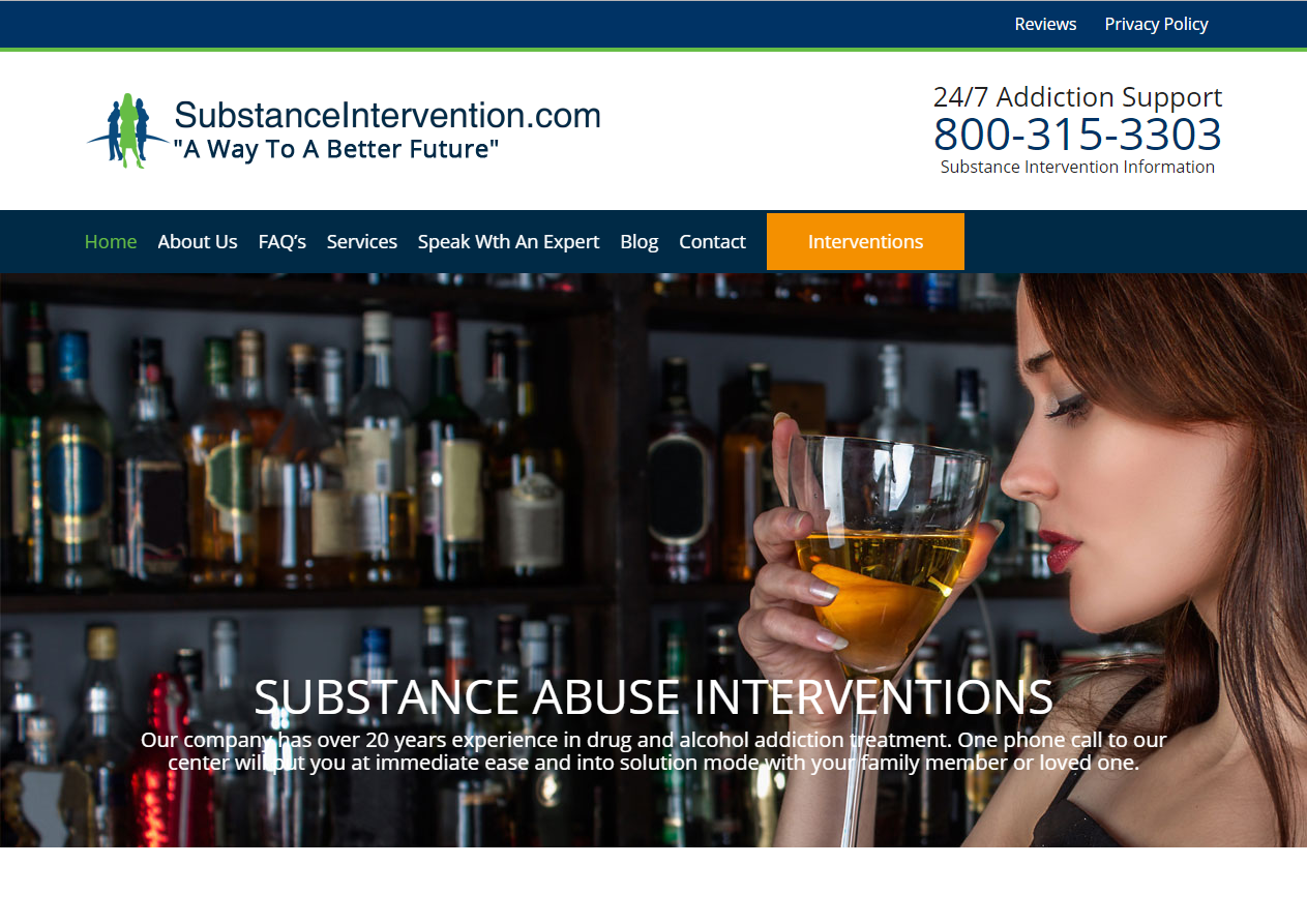 Substance Intervention